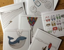 set-of-six-greeting-cards