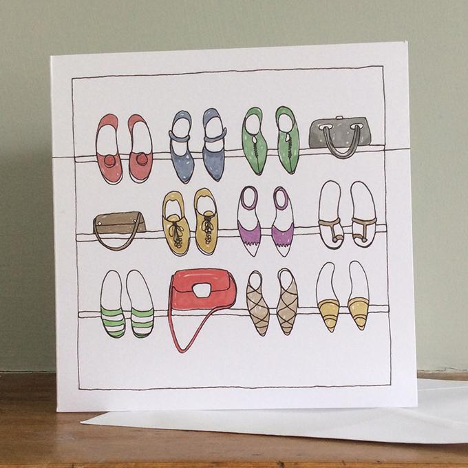 shoes-and-handbags-greeting-card